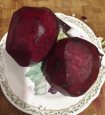 Beets... what a beautiful color
