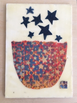 "bowl of stars, 5x7"" $95"